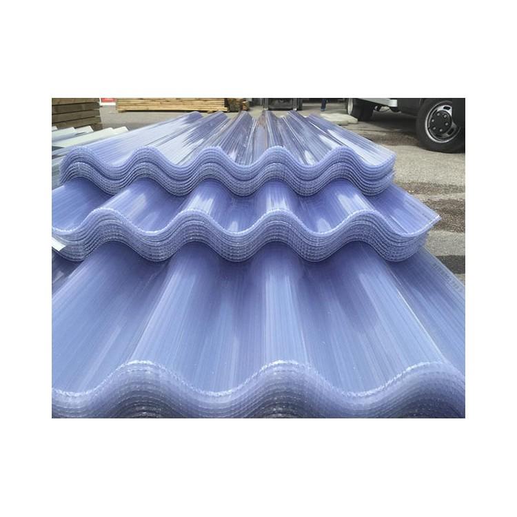 Tôle polycarbonate ondulé